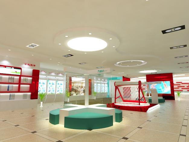 太阳宝太阳能展厅现代简约装修效果图实景图