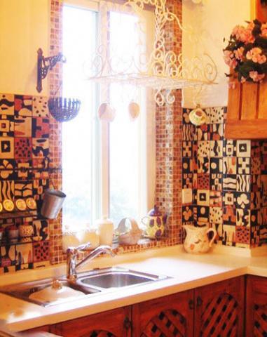 厨房装修实景